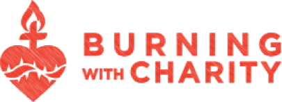 Burning With Charity in red