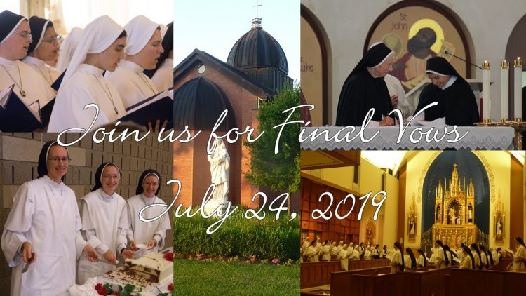 collage of nuns taking vows